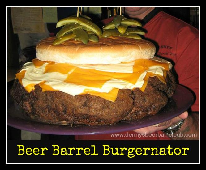 11 kilo burger Denny's