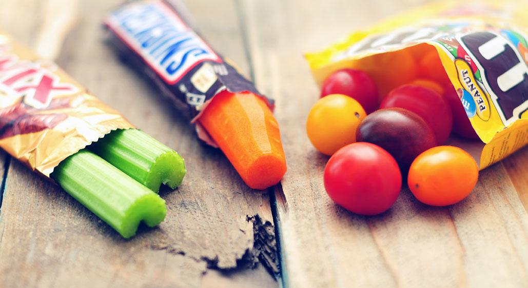 Gezonde snacks en gezond snacken